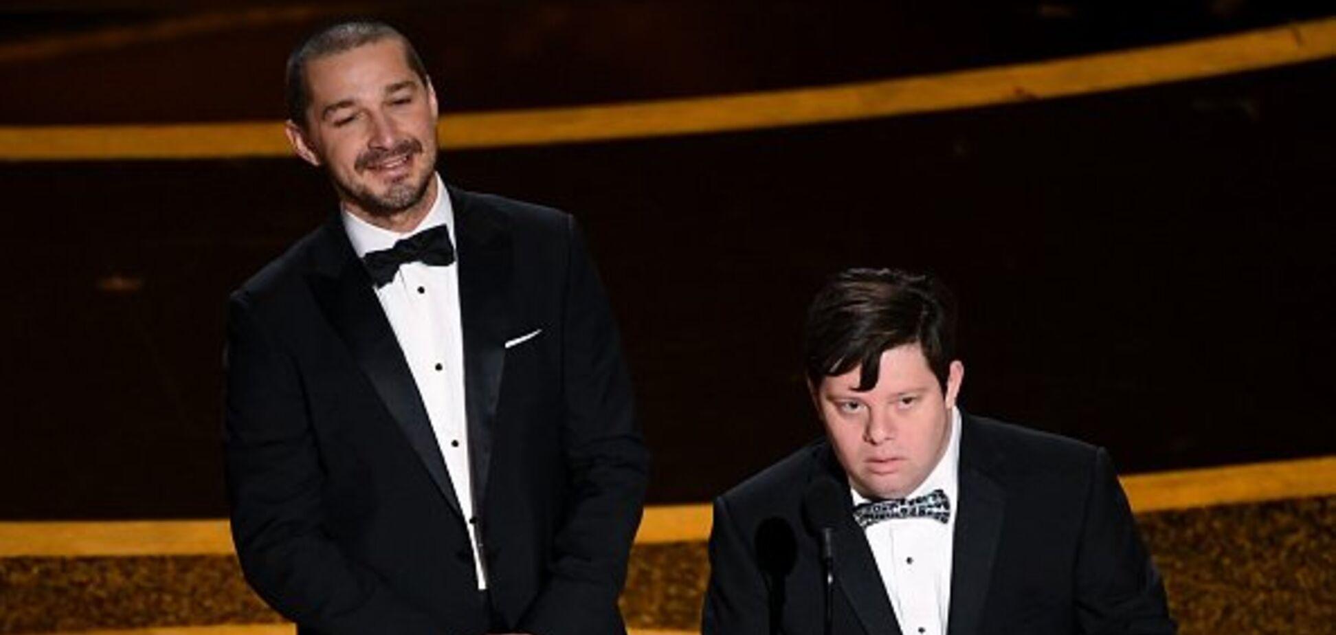 На 'Оскаре' посмеялись над актером с синдромом Дауна: в сети разгорелись споры