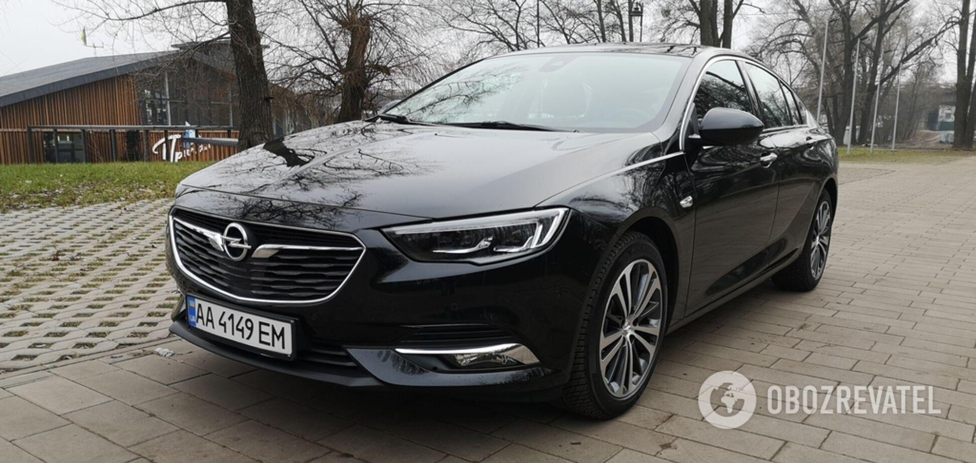 Прагматизм в привлекательной упаковке: тестируем Opel Insignia