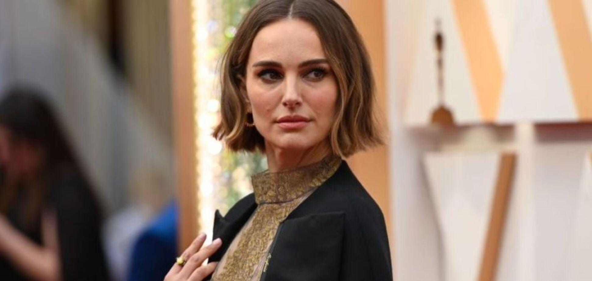 Наталі Портман сміливим вбранням кинула гучний натяк на 'Оскарі-2020'. Фото і відео