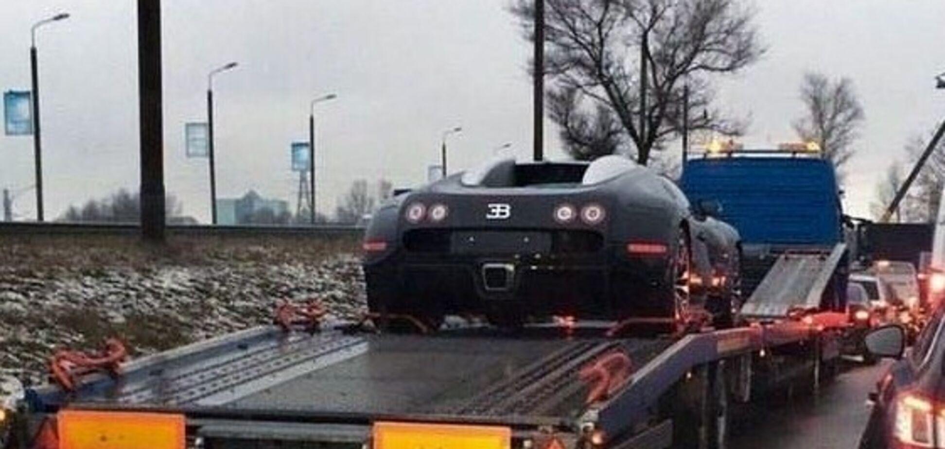 Здійснилося! В Україні вперше зняли Bugatti Veyron