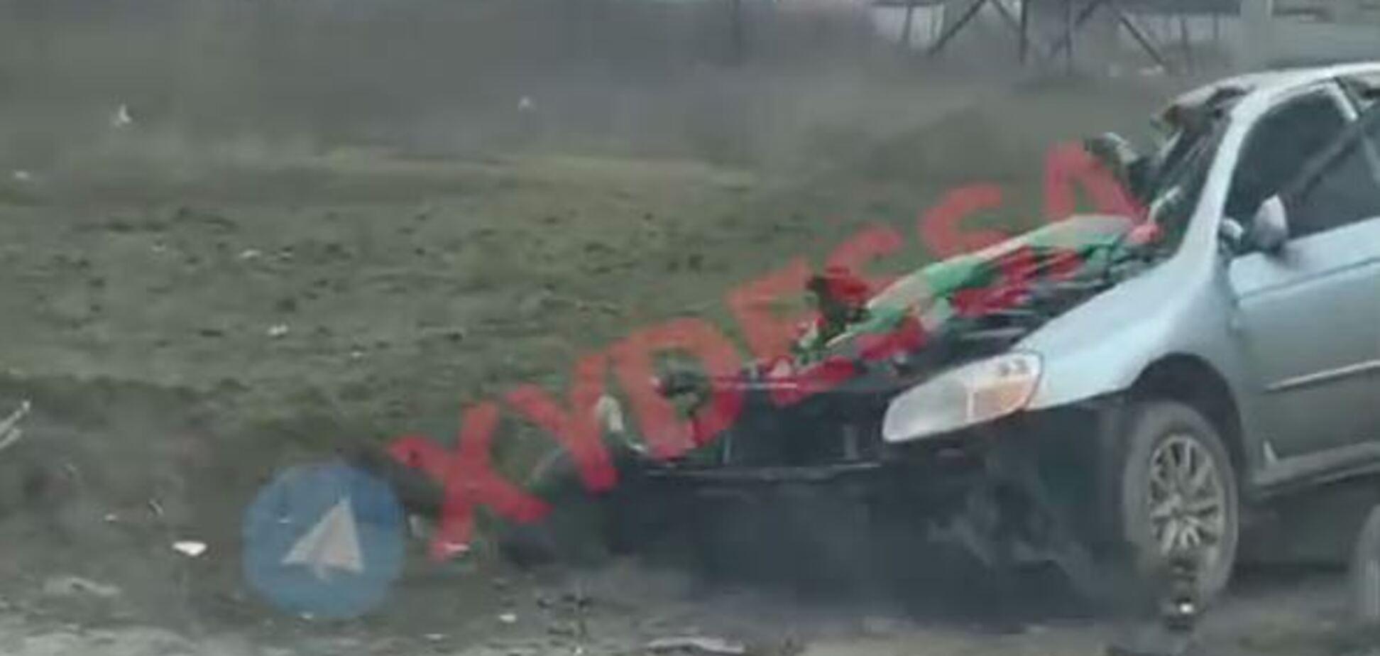 На Одесщине легковушка попала в жуткое ДТП с фурой
