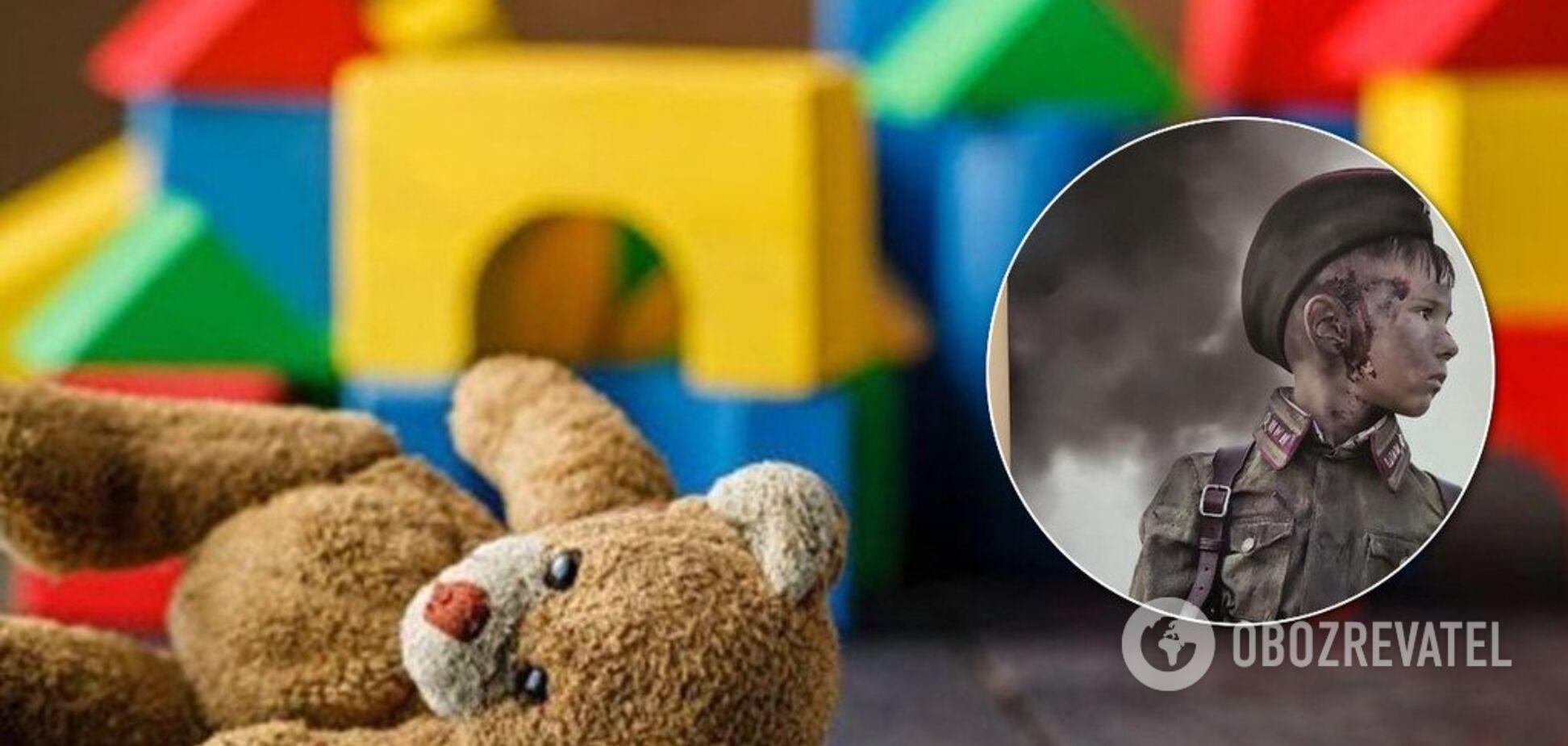 'Это ад': в российском детсаду развесили фото окровавленных детей