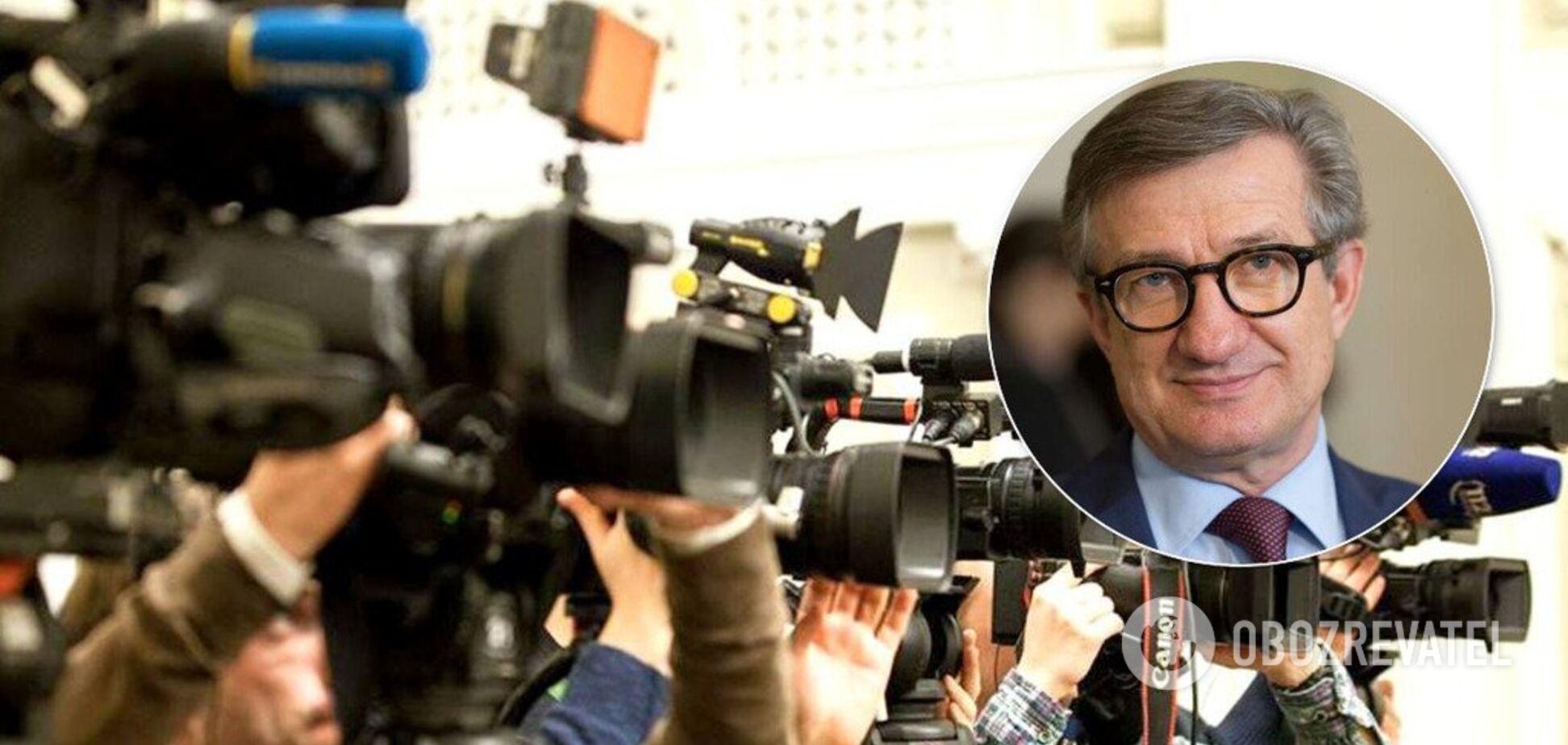 'Потрібно говорити з журналістами!' Тарута жорстко розкритикував закон 'Про медіа'