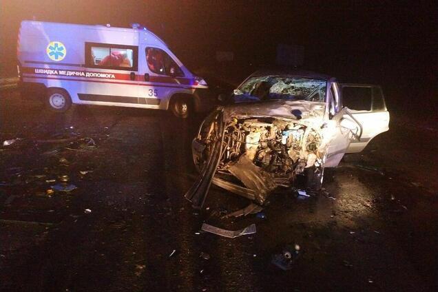 От столкновения автомобилей в Черкассах погиб человек
