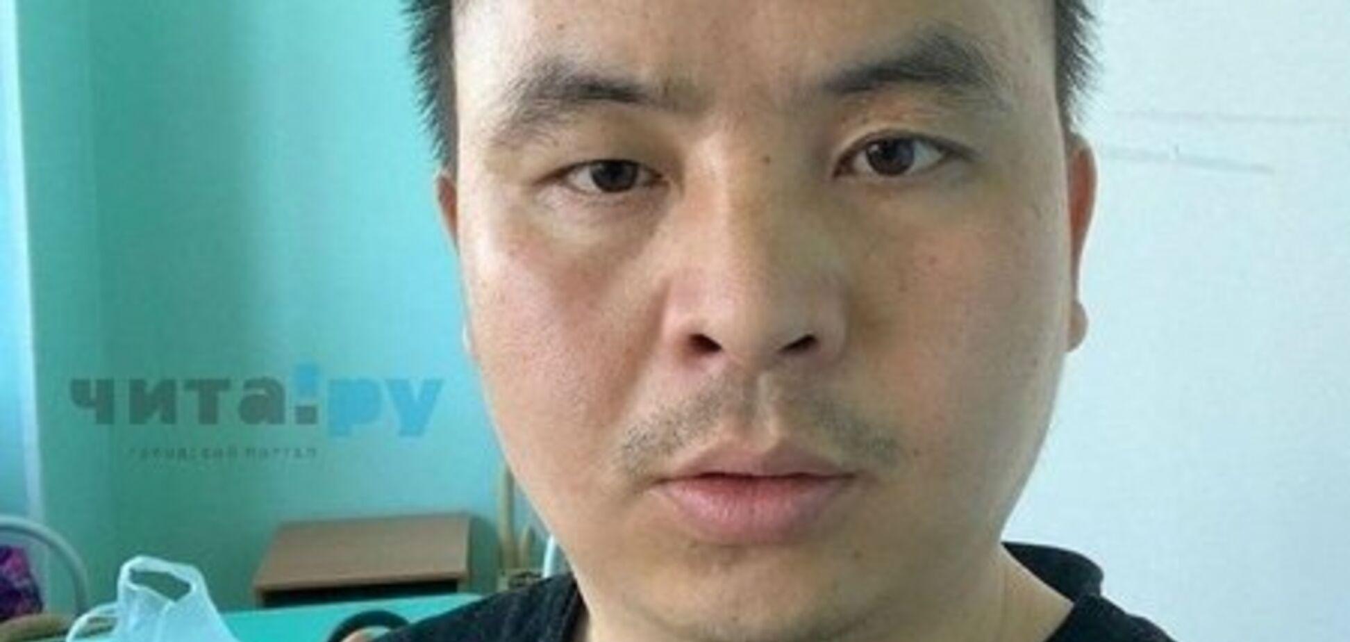 Коронавірус у РФ: заражений китаєць виступив зі зверненням до росіян