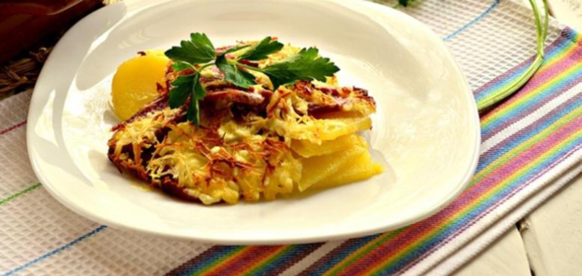 Ніжна картопляна запіканка в мультиварці: простий рецепт