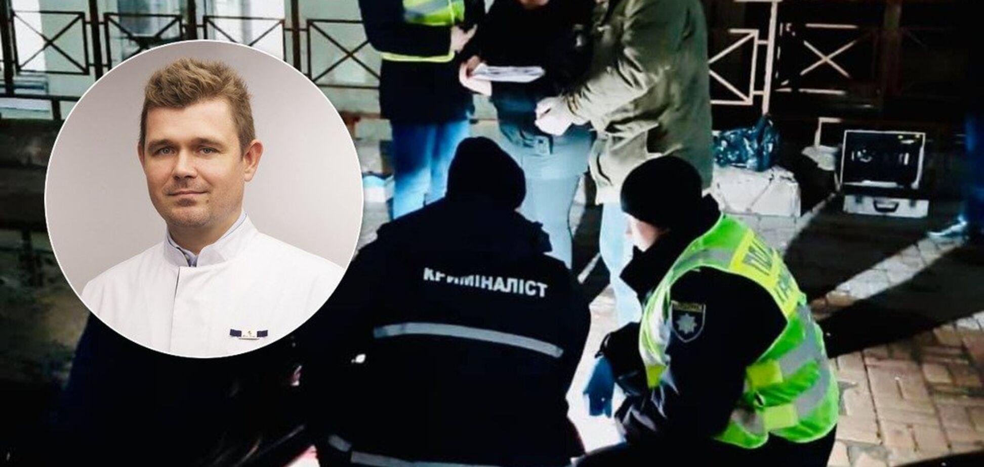 З'явилося відео моменту вбивства відомого лікаря в Києві. 18+