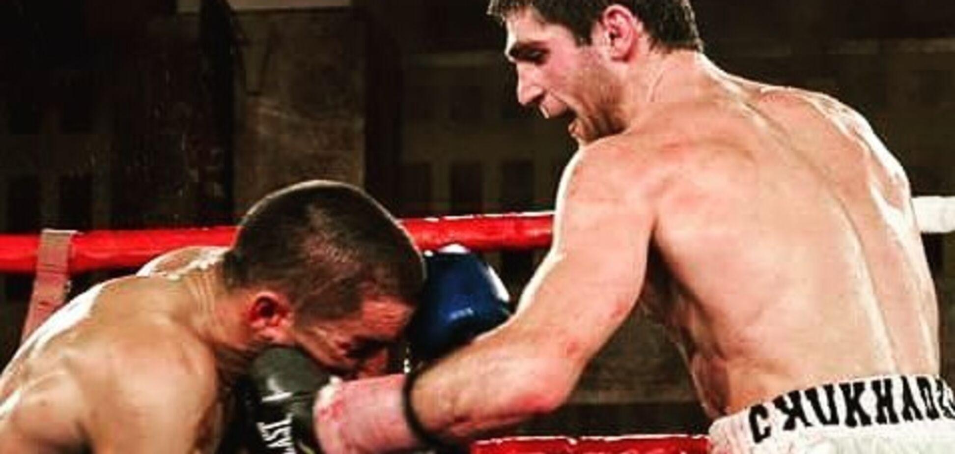 Украинский боксер в России сенсационно выиграл чемпионский титул