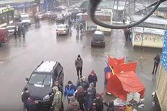На Харківщині розгромили намети 'Партії Шарія': з'явилося відео