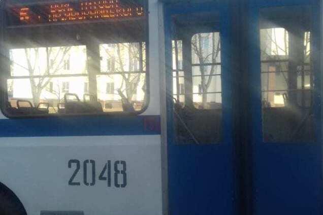 Пасажир напав на водія тролейбуса