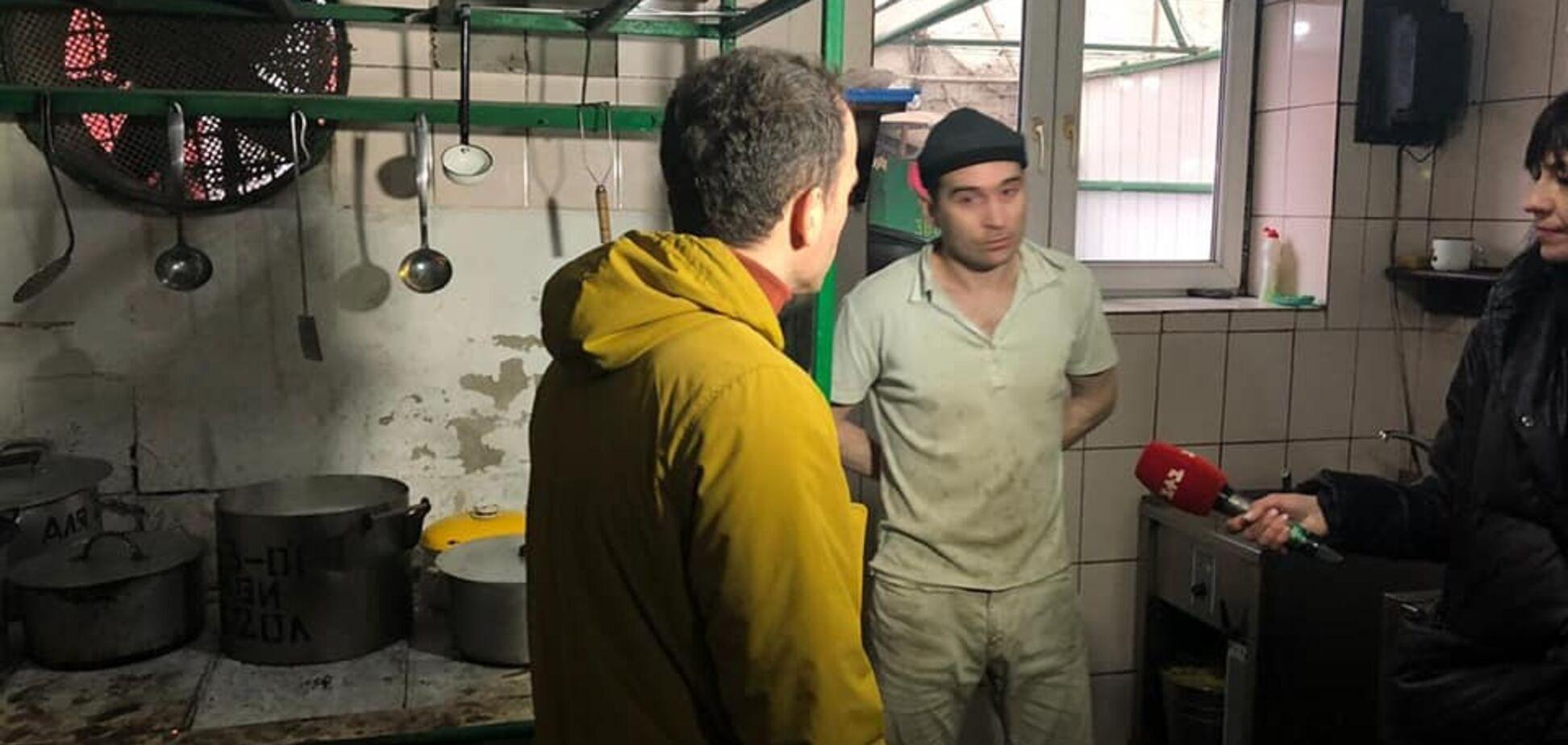Порно не дивляться, але жахлива їжа: Малюська перевірив в'язниці Бердичева. Фото