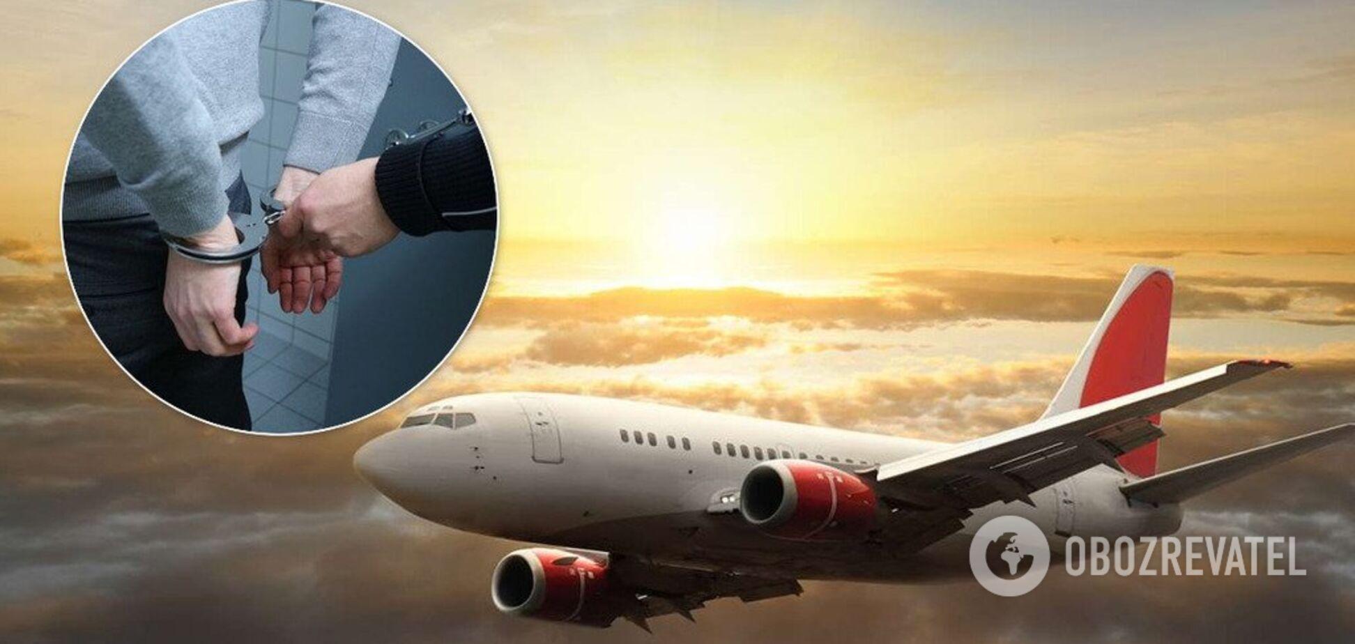 В аэропорту 'Борисполь' поймали организатора схемы с иностранными самолетами