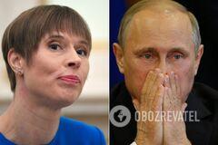 Кальюлайд и Путин