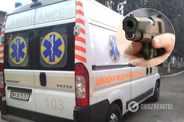 Стрельба в Киеве. Иллюстрация