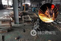 Распад, деградация и разруха: блогер показал руины завода на Донбассе