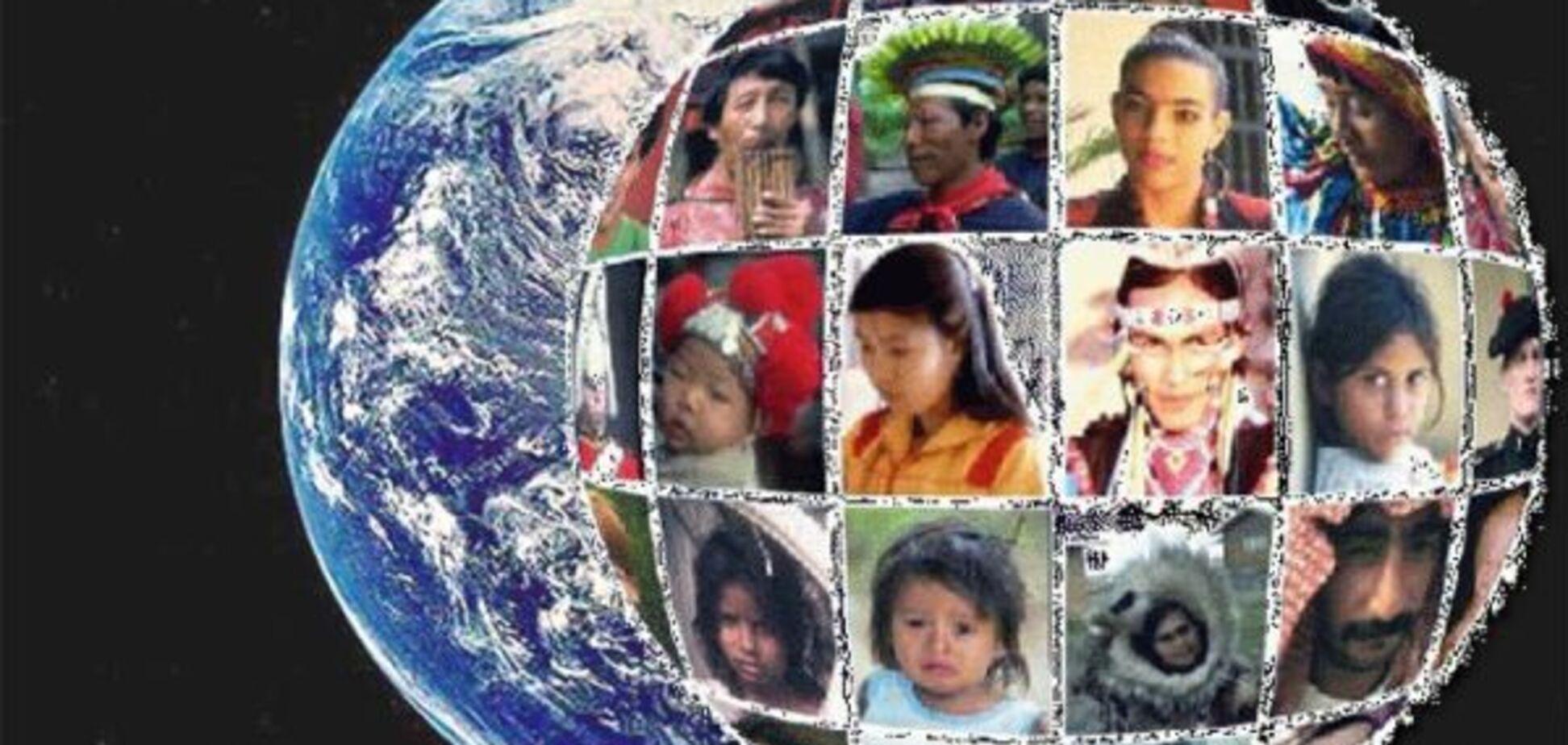 В сети показали карту реального распределения населения на Земле
