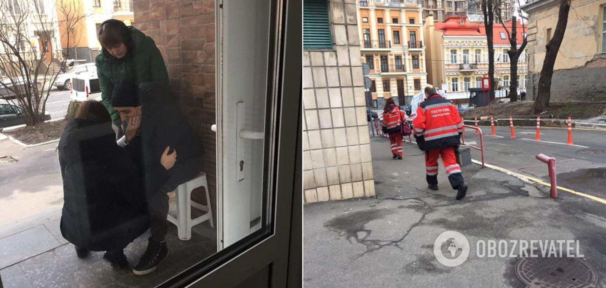В Киеве поликлиника попала в скандал с больным мужчиной