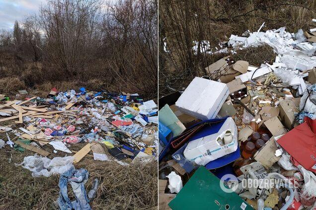 Завалений сміттям Київ
