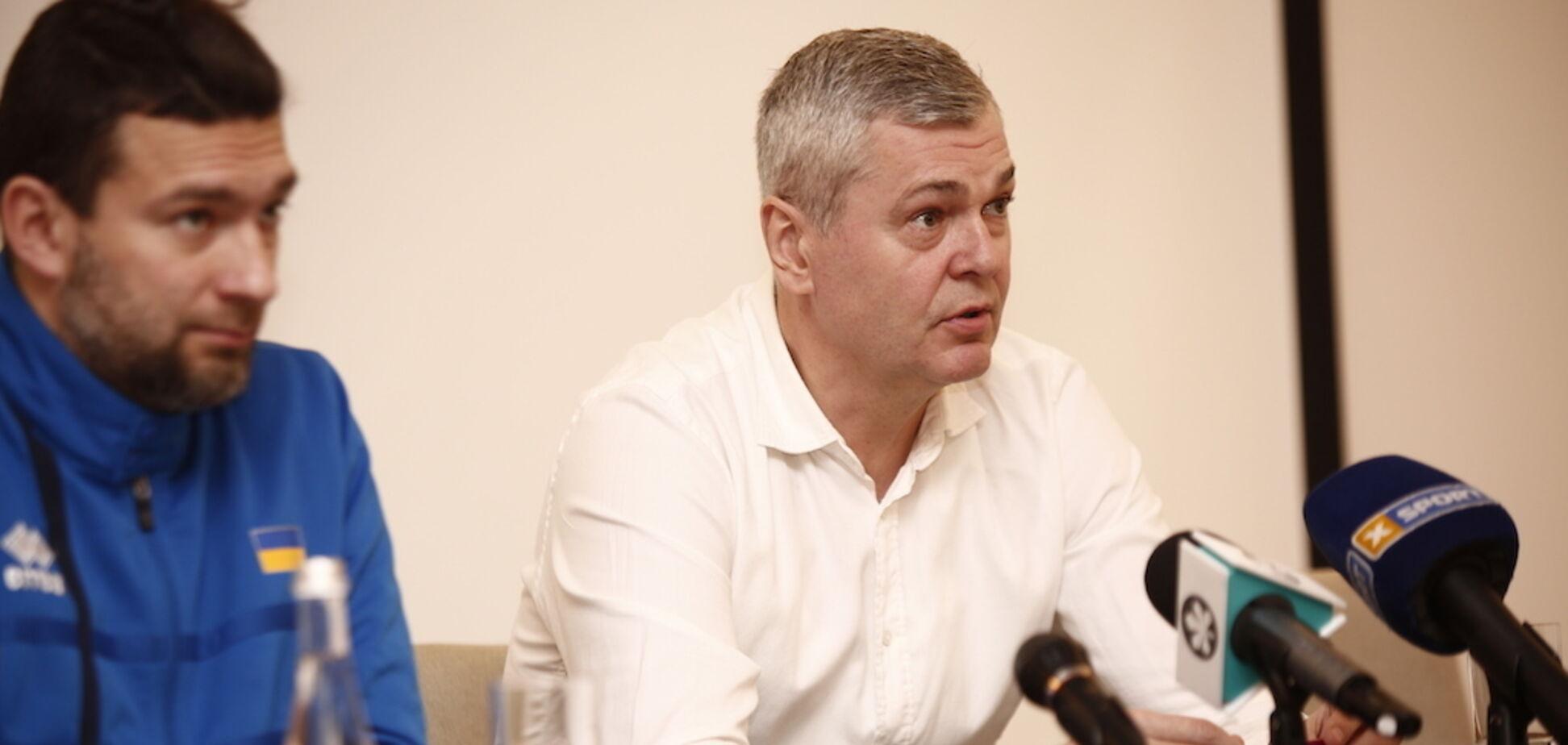'Відрізняється від клубної': Багатскіс розповів про роботу в збірній України