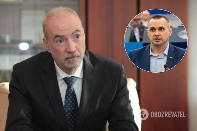 Этьен де Понсен и Олег Сенцов