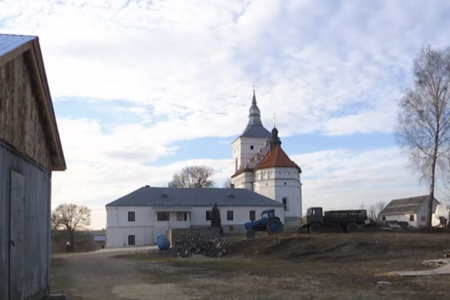Мужской монастырь в селе Малые Загайцы