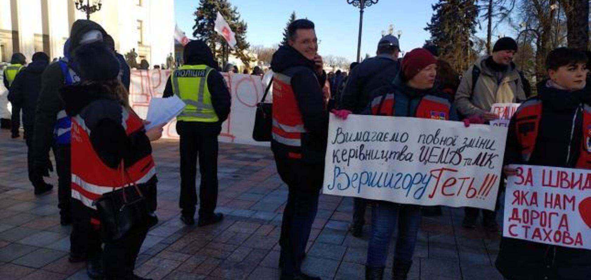 У Києві катастрофа зі 'швидкими': медики вийшли на протест через нелюдські умови
