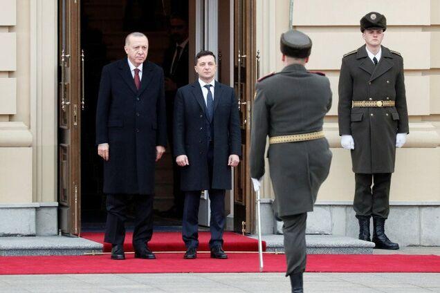"""Ердоган привітав стрій почесної варти словами """"Слава Україні"""""""