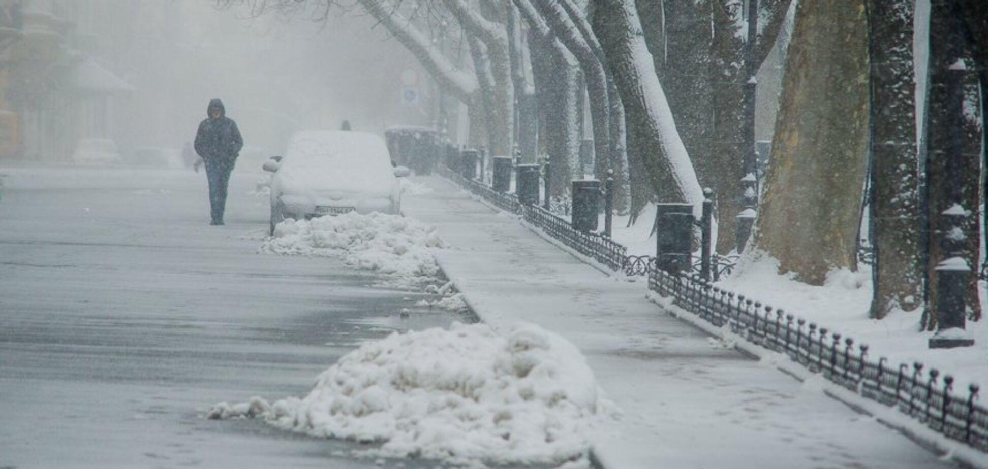 Одессу напугали холодным прогнозом погоды