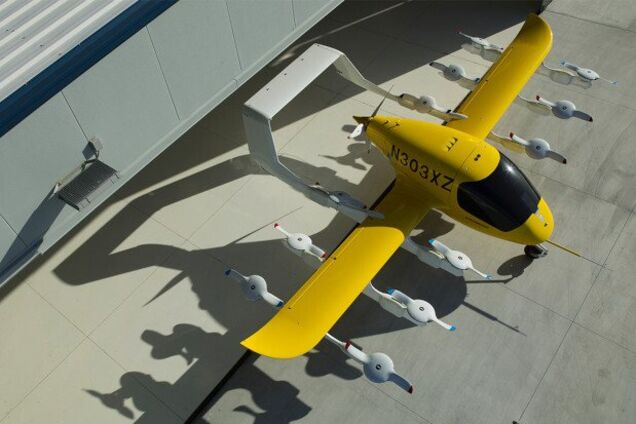 Электрическое аэротакси Сora