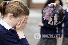 'Щоб знала, як рот відкривати!' У Києві підлітки по-звірячому побили школярку. Відео 18+