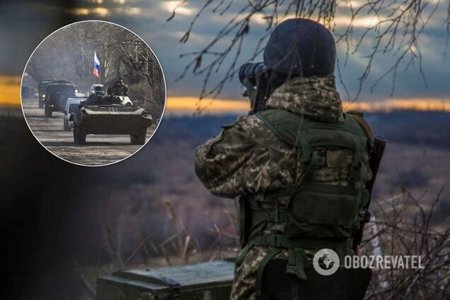 Террористы взимают технику к фронту