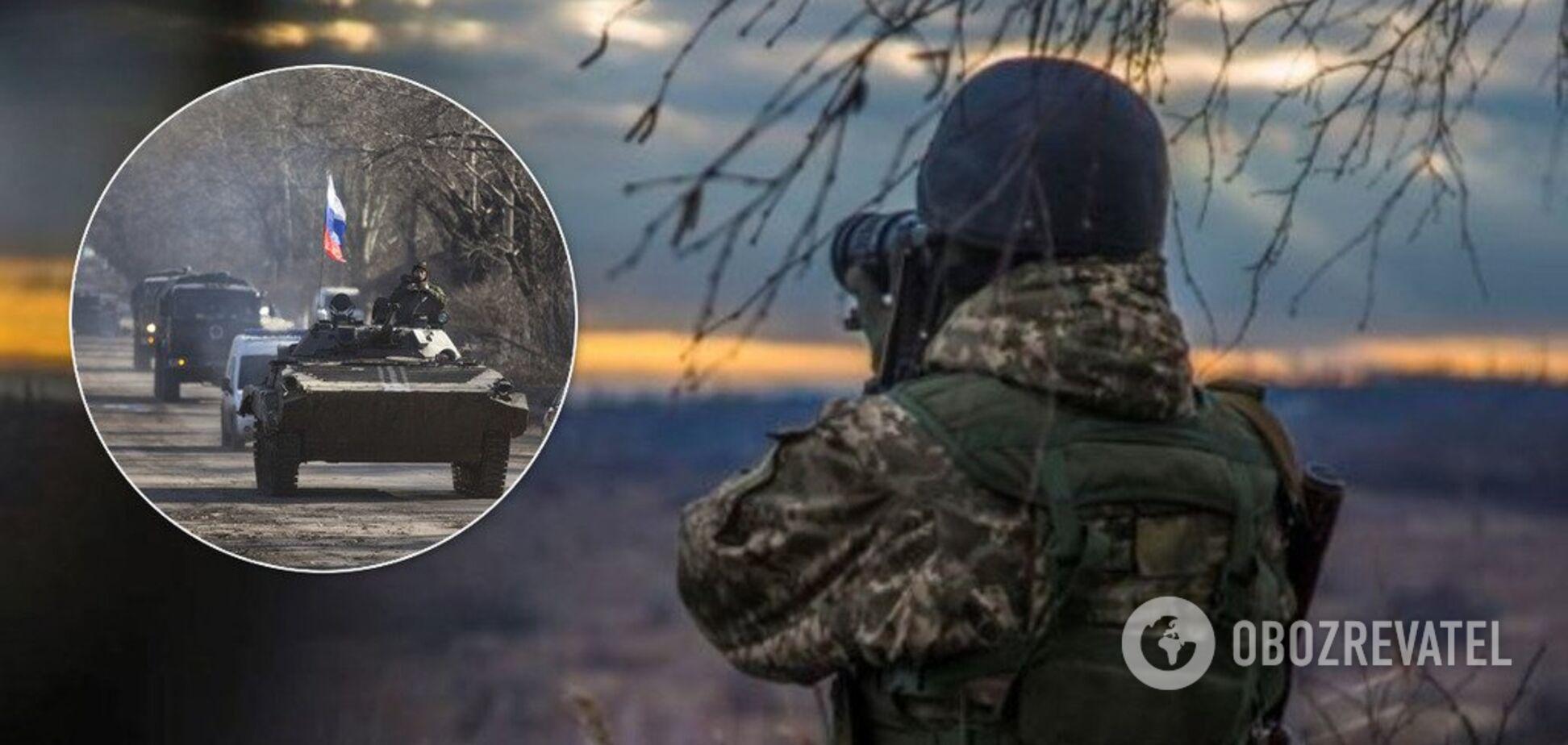 Снайперы и новая техника: разведка засекла опасные маневры террористов на Донбассе