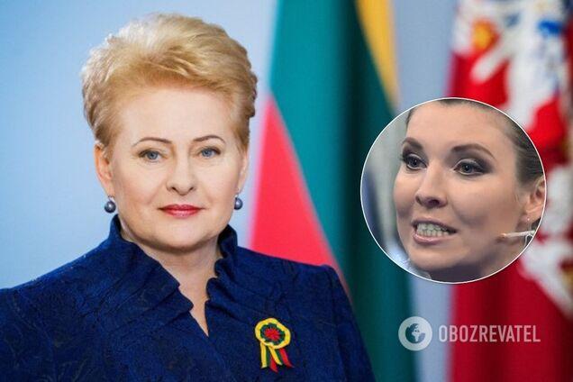 Грибаускайте і Скабєєва