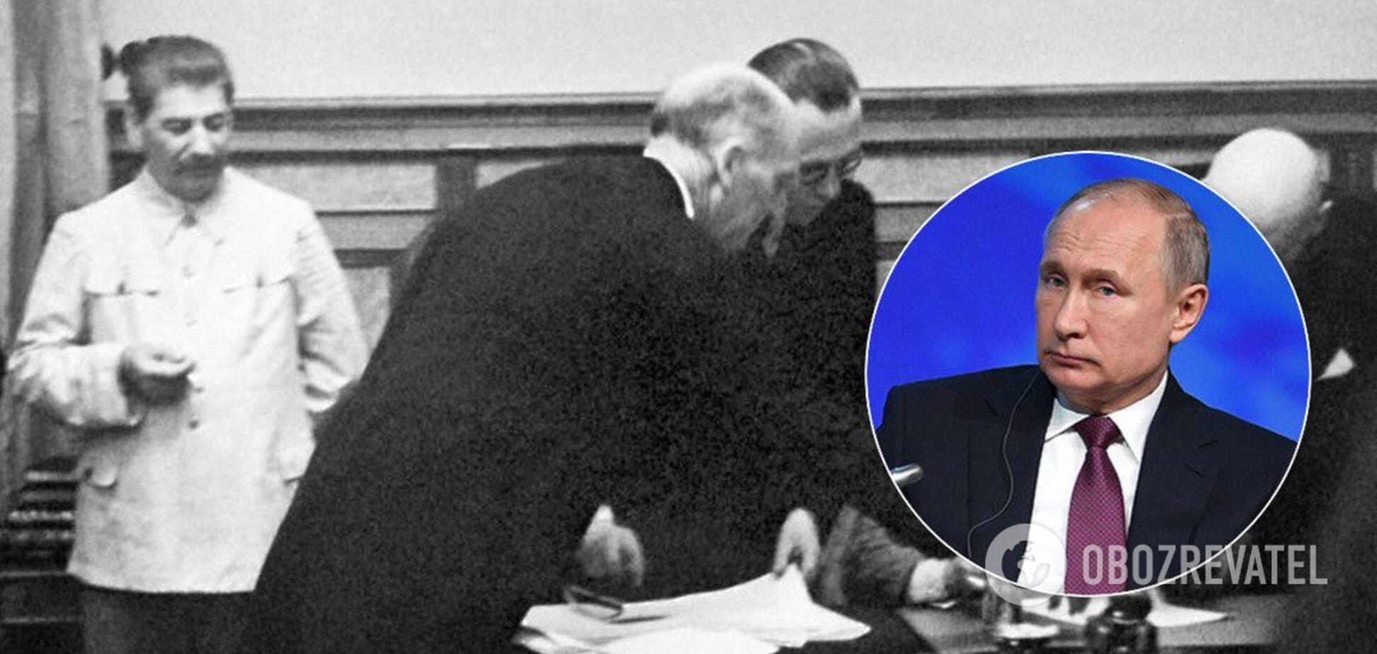 Сказки Путина о Второй мировой: ему показали красные линии