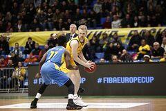 Определился соперник 'Киев-Баскета' в 1/4 финала Кубка Европы ФИБА