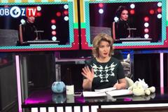 Продемонстрирует ли одиозный украинец тризуб в эфире российского ''Первого канала''