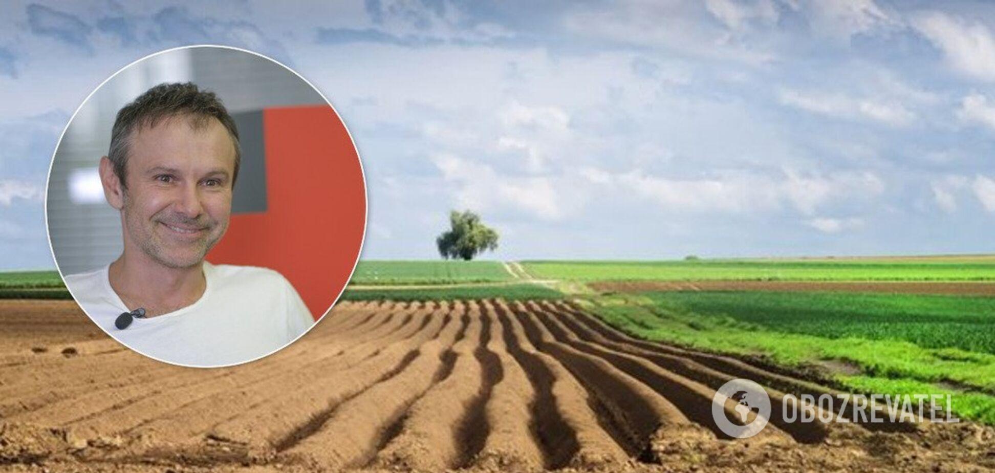 Запуск рынка земли: Вакарчук предложил три правила