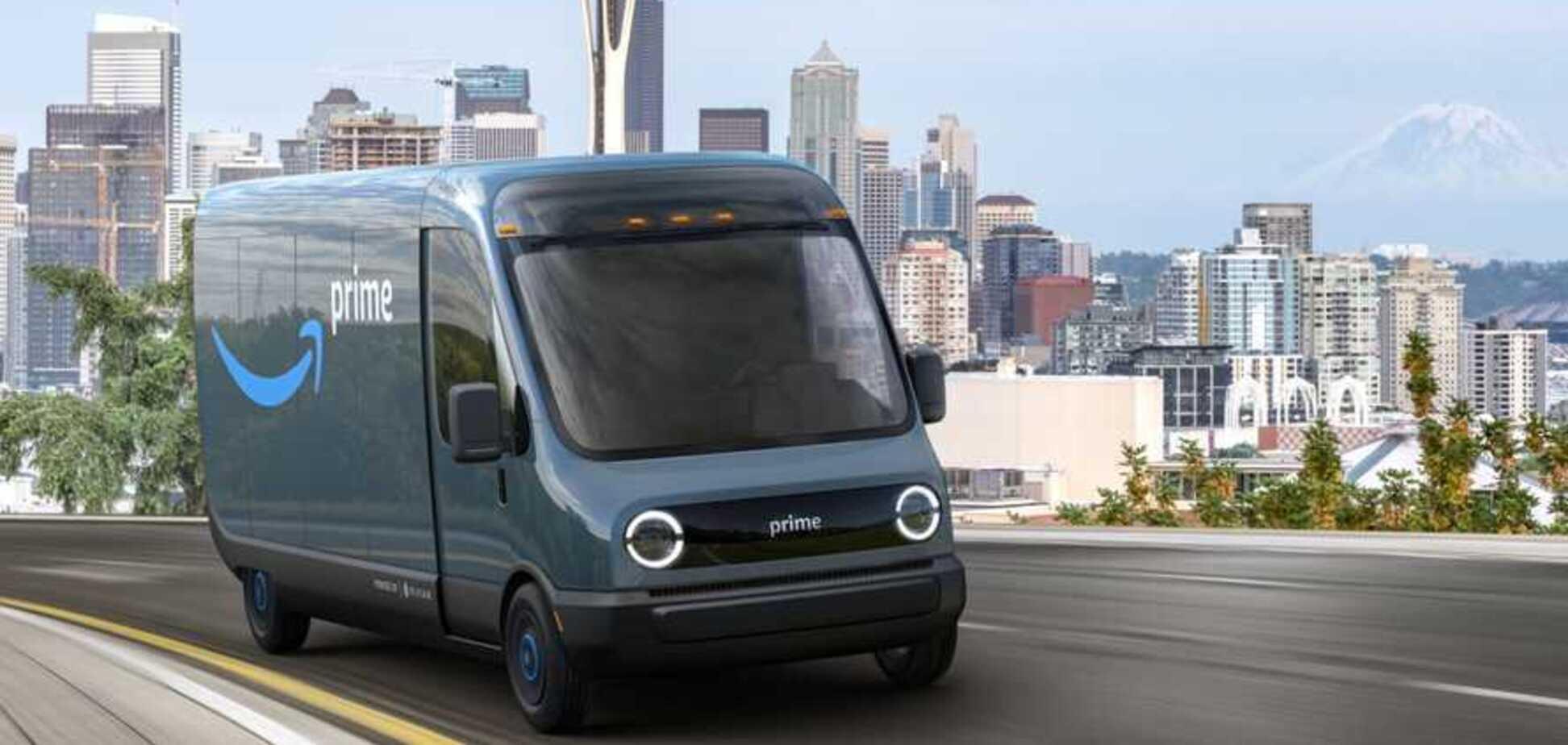 Ждем на Укрпочте: Amazon показал электрический развозной фургон