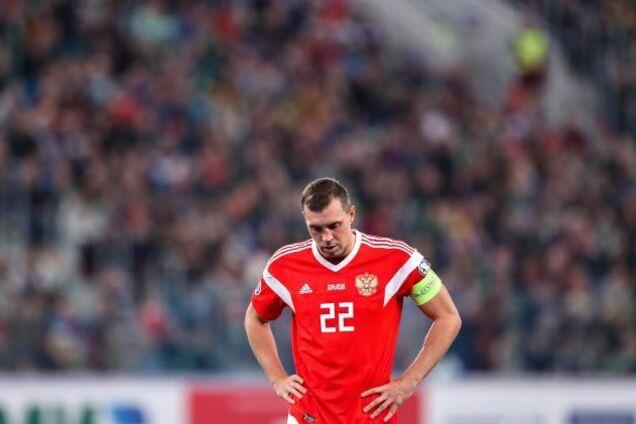 Сборная России по футболу и ее капитан Артем Дзюба