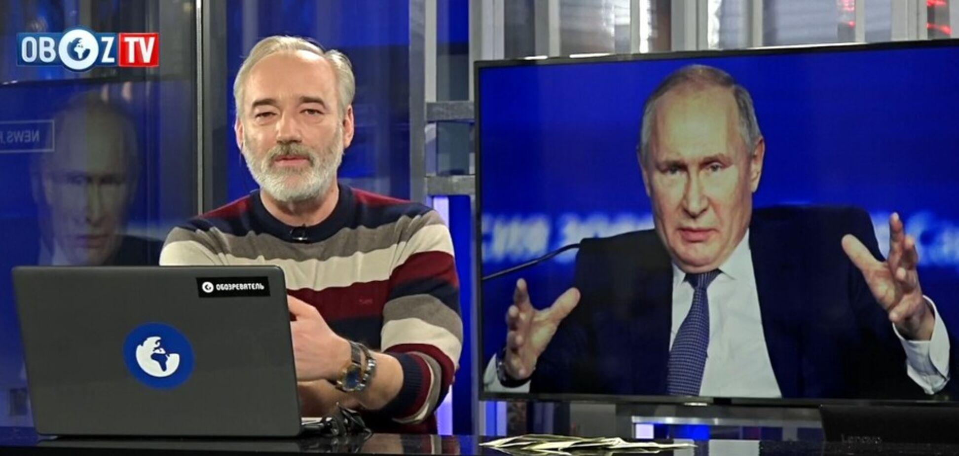 ПОРЄБРІК: росіяни 'випадково' зустрілися із Путіним на вулиці