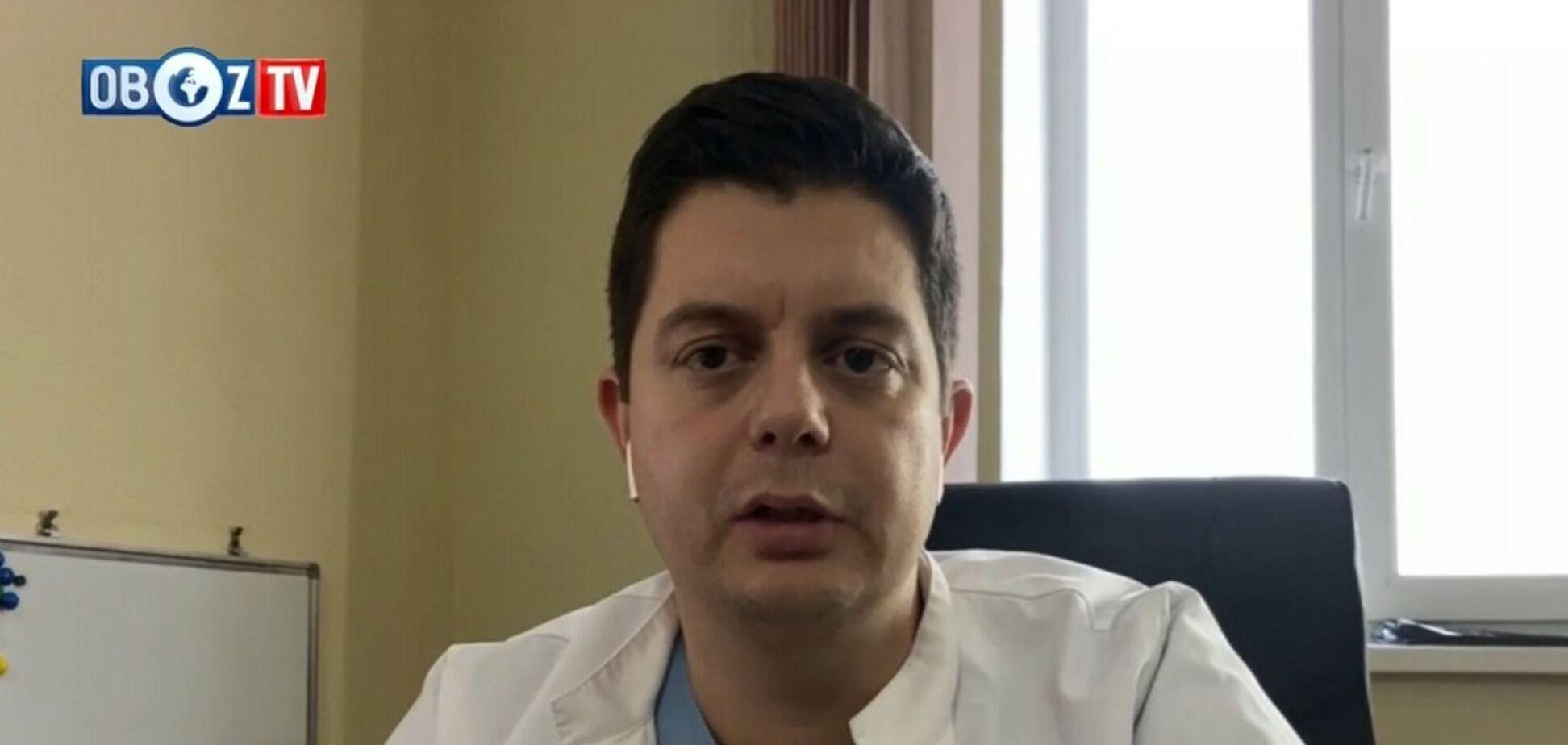 В Украине эпидемия рака: нейрохирург-онколог