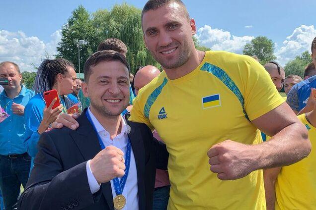 Виктор Выхрист и Владимир Зеленский