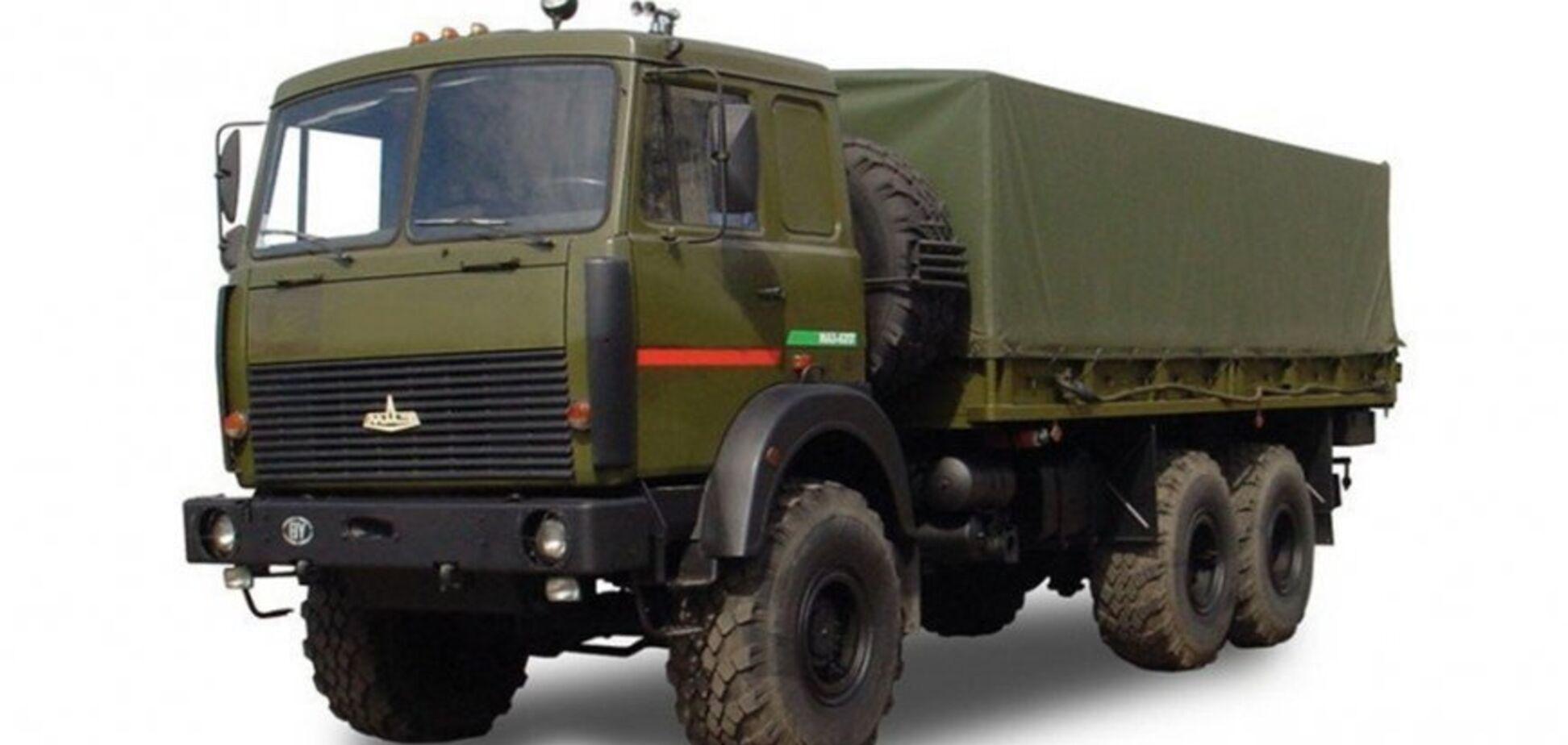 Нацгвардія придбала авто із забороненими комплектувальними з РФ – КрАЗ