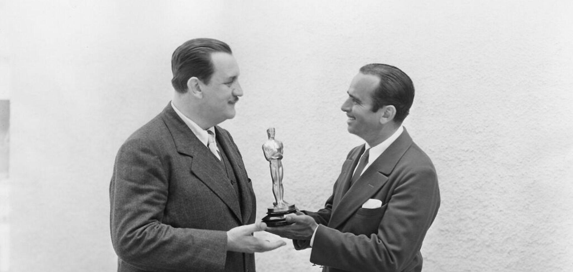 Як проходив перший в історії 'Оскар': опубліковані історичні фото і відео