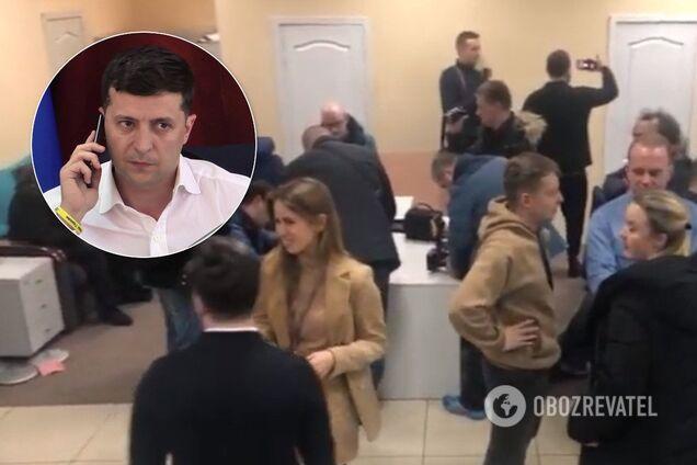 """Зеленський дізнався про обшук на """"1+1"""" з повідомлення Дубінського"""