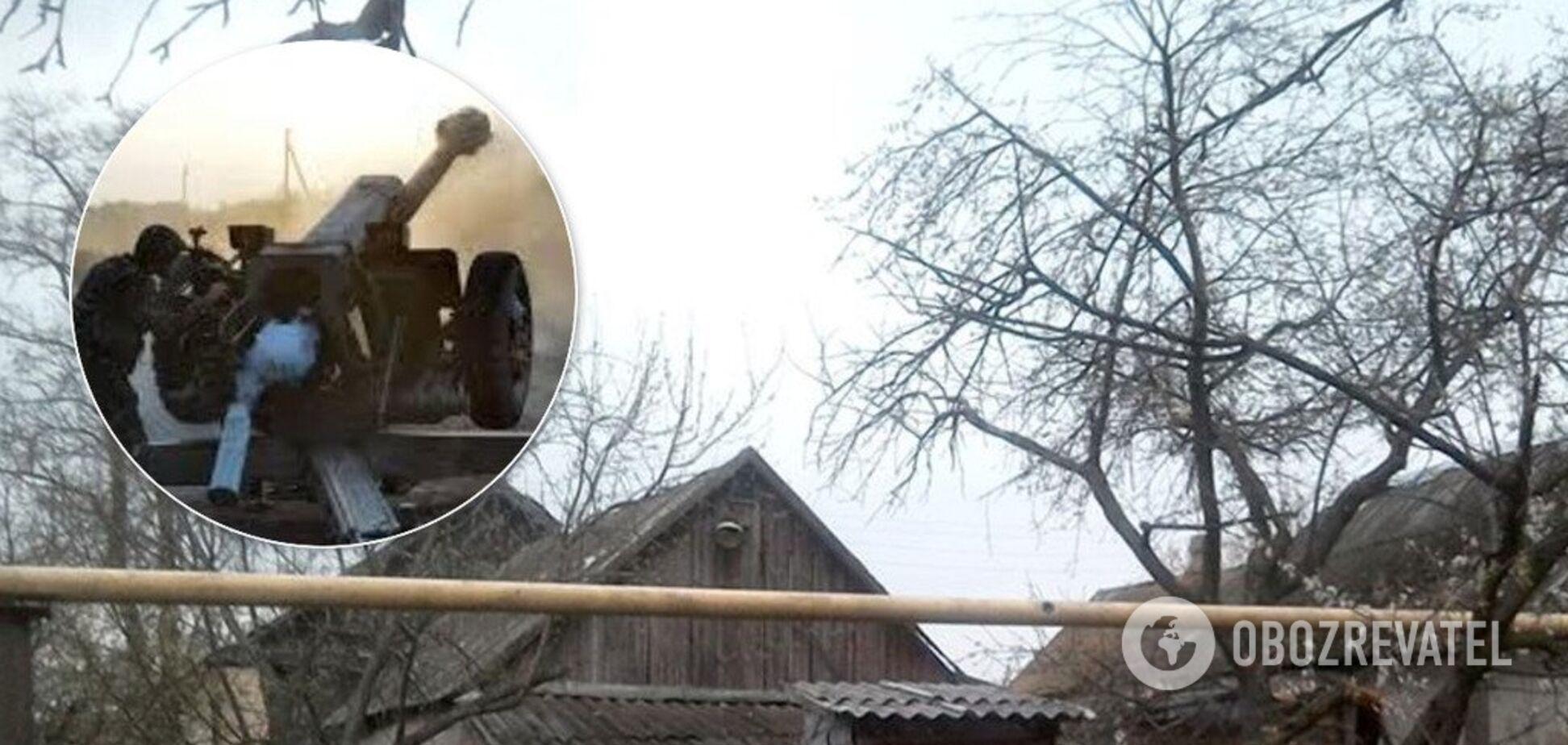 Будують бліндажі й підтягують міномети: терористи 'оселилися' в цивільних будинках на Донбасі