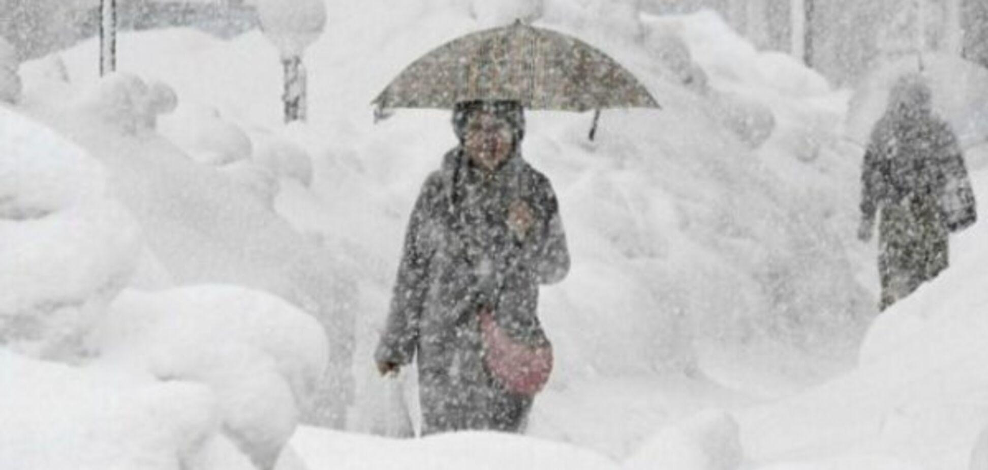 Україну завалить снігом: синоптики попередили про сильну бурю