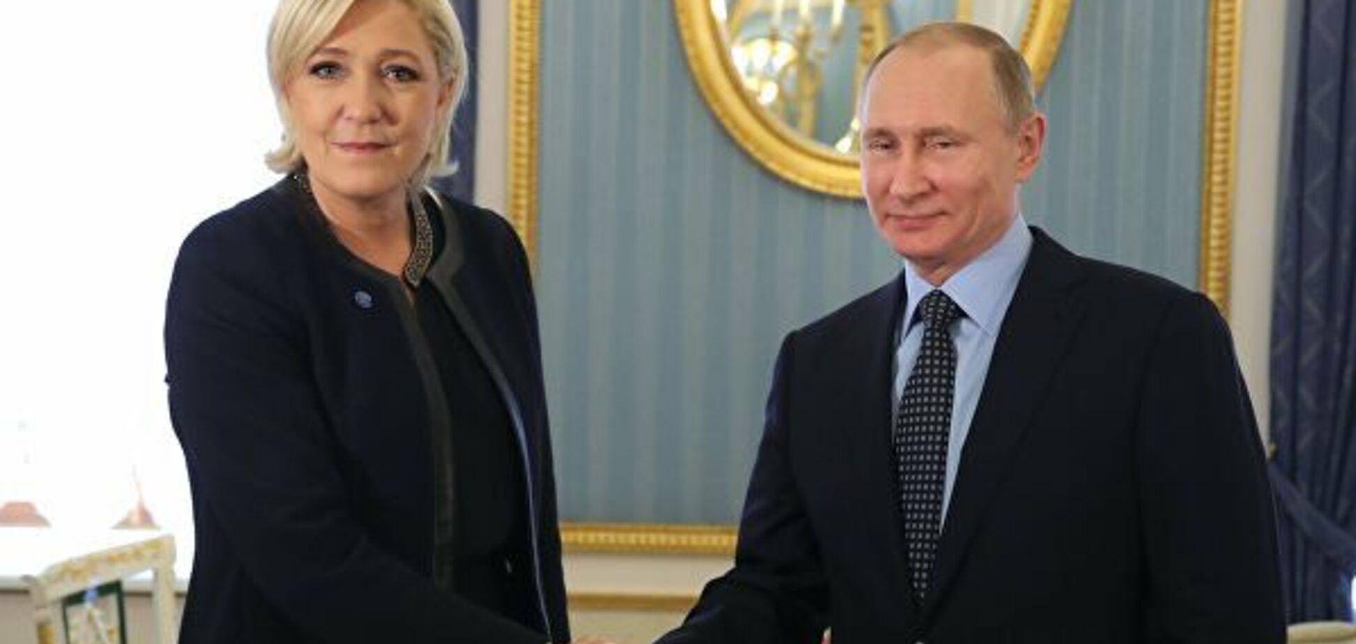 Конец 'романа' Кремля с мадам Ле Пен