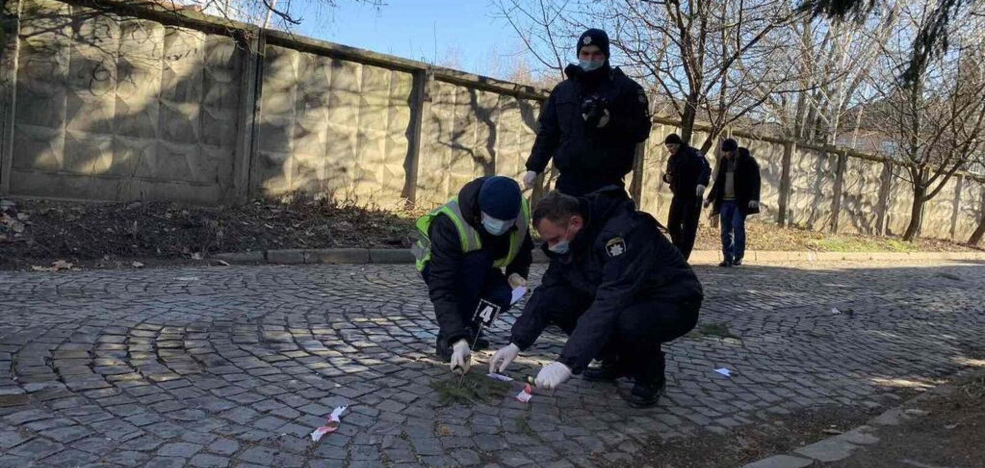Фото з місця злочину