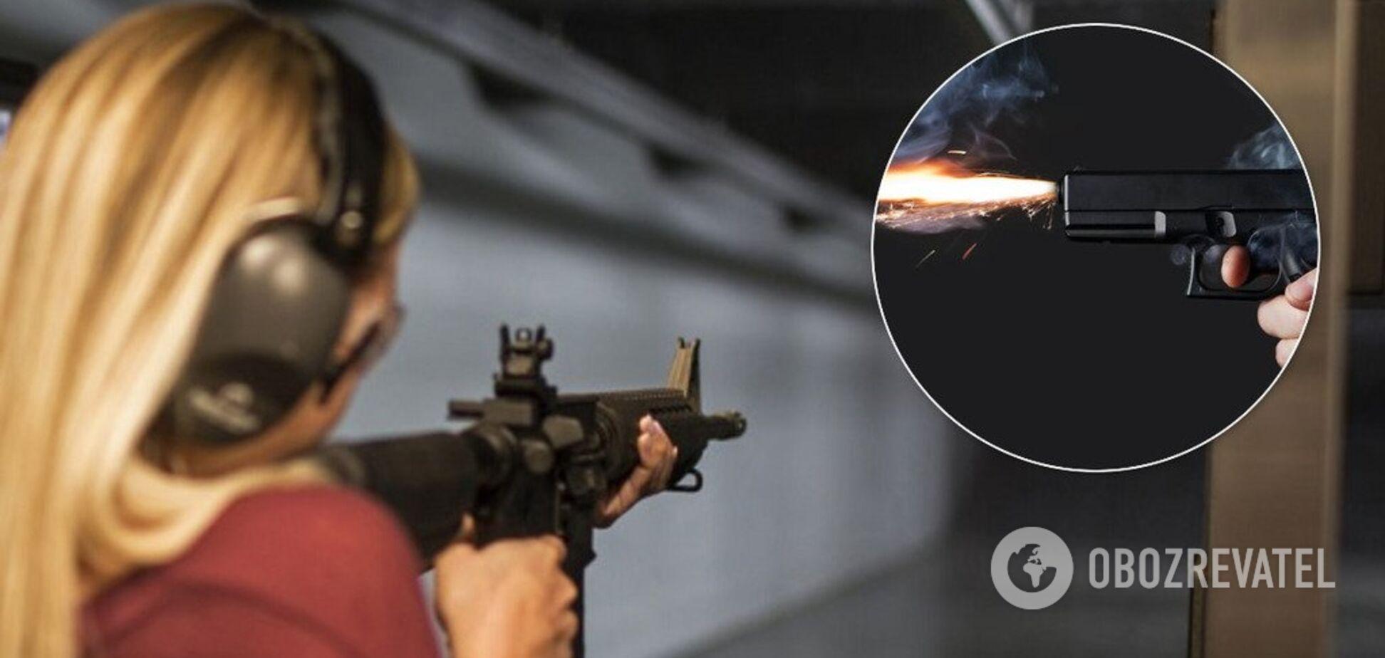 В Полтаве 18-летняя девушка застрелила инструктора в тире